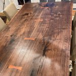 Walnut table top
